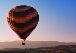 Hot air ballooning in Sri Lanka