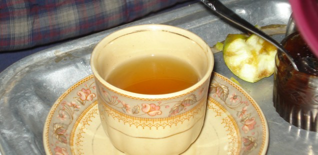 Yak butter tea is unique to the Himalayan region.
