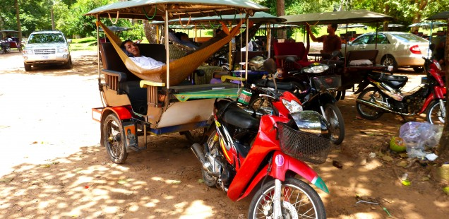 Cambodia's hammock way of life.