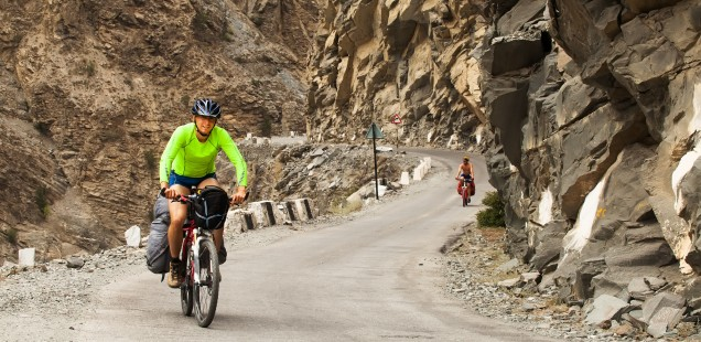 Cycling or mountain biking are great ways to explore Ladakh.