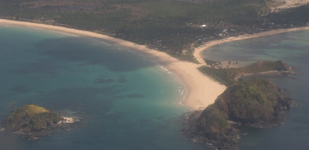 A view from our flight to El Nido.