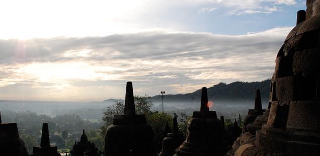 Borobudur Temple, Java, 2011