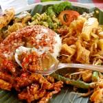 Indonesian street food, Bali, 2011