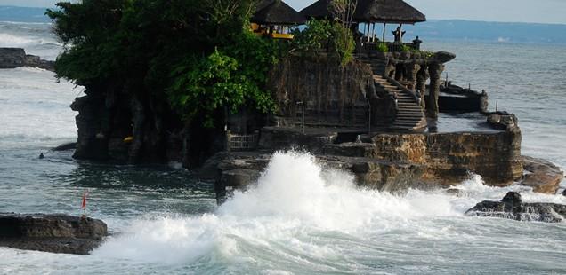 Tanah Lot Temple, Bali, 2011