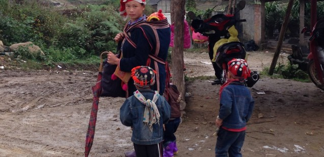 Tribal people in Sapa, Vietnam