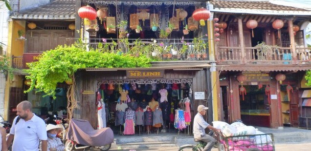 For some reason, almost all shops in Hoi An had lanterns hanging outside.