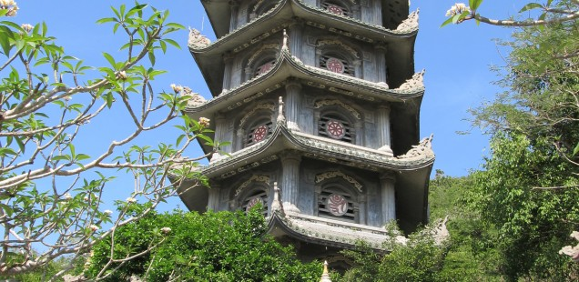 There are many amazing temples on the Marble Mountains.   Hoi An