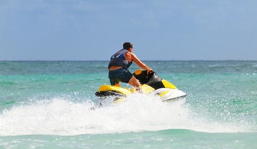 Jetskiing Maldives