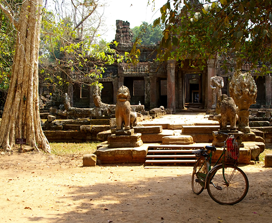 Angkor by bicycle