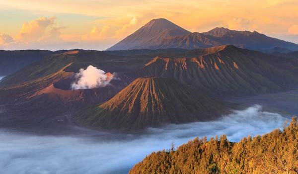 Mount Bromo volcano