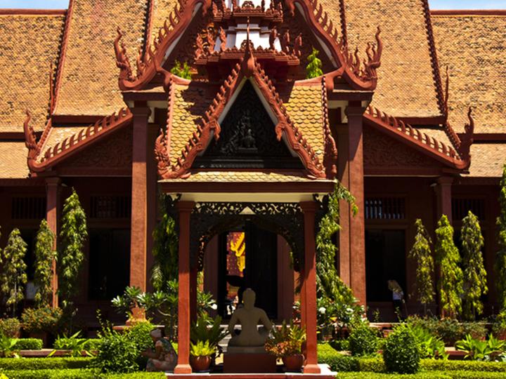 Phnom Penh Cambodia national museum