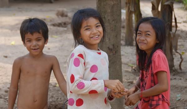Phnom Penh street kids