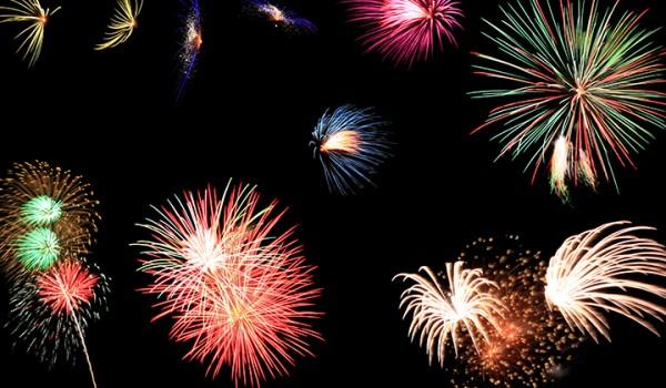Fireworks bangkok thailand